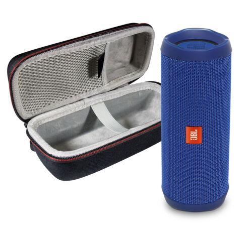 JBL FLIP 4 Blue Kit Bluetooth Speaker /& Portable Hardshell Travel Case
