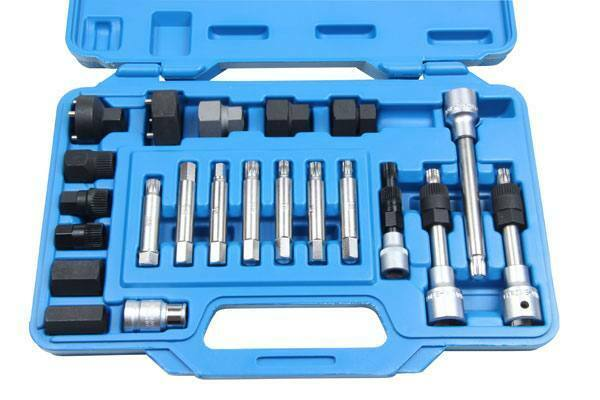 BERGEN 24pc ALTERNATOR TOOL SET KIT B5502