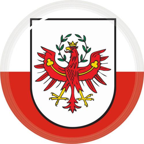 3D 5cm Flaggen Sticker Österreich Tirol für Auto Caravan Bike Helm Laptop
