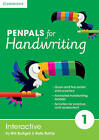 Penpals for Handwriting Year 1 Interactive by Gill Budgell, Kate Ruttle (DVD-ROM, 2015)