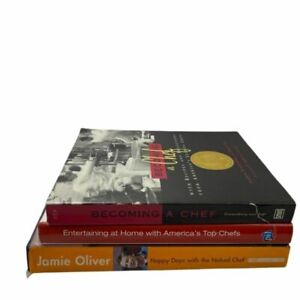 (3 PK) Chefs Cooking Books: America's Top Chefs, Becoming a Chef, Happy Days