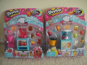 NEW-in-Box-Shopkins-Chef-Club-Hot-Waffle-amp-Juicy-Smoothie-Collection-Limited-Ed