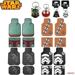 New Plasticolor Star Wars Car Truck Front Back Rubber All