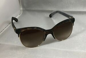 e93273516f3f6 Chanel Women s Black   Brown Stripped Quilted Sunglasses 5342-A C ...