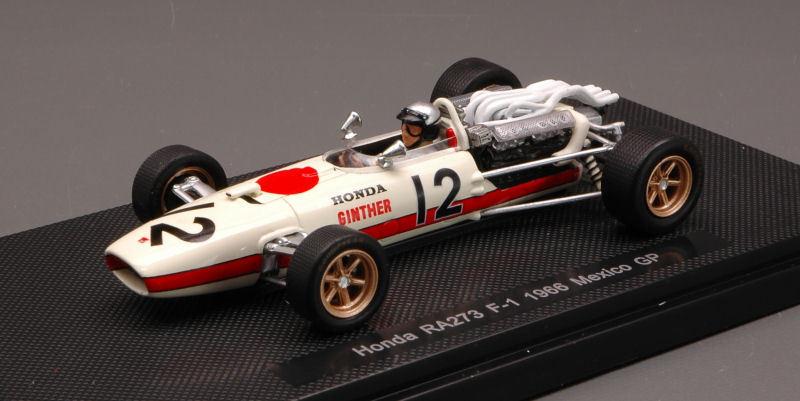 Honda f1 ra273 R.  Ginther 1966  12 Mexico GP 1 43 Model 44262 EBBRO  meilleurs prix