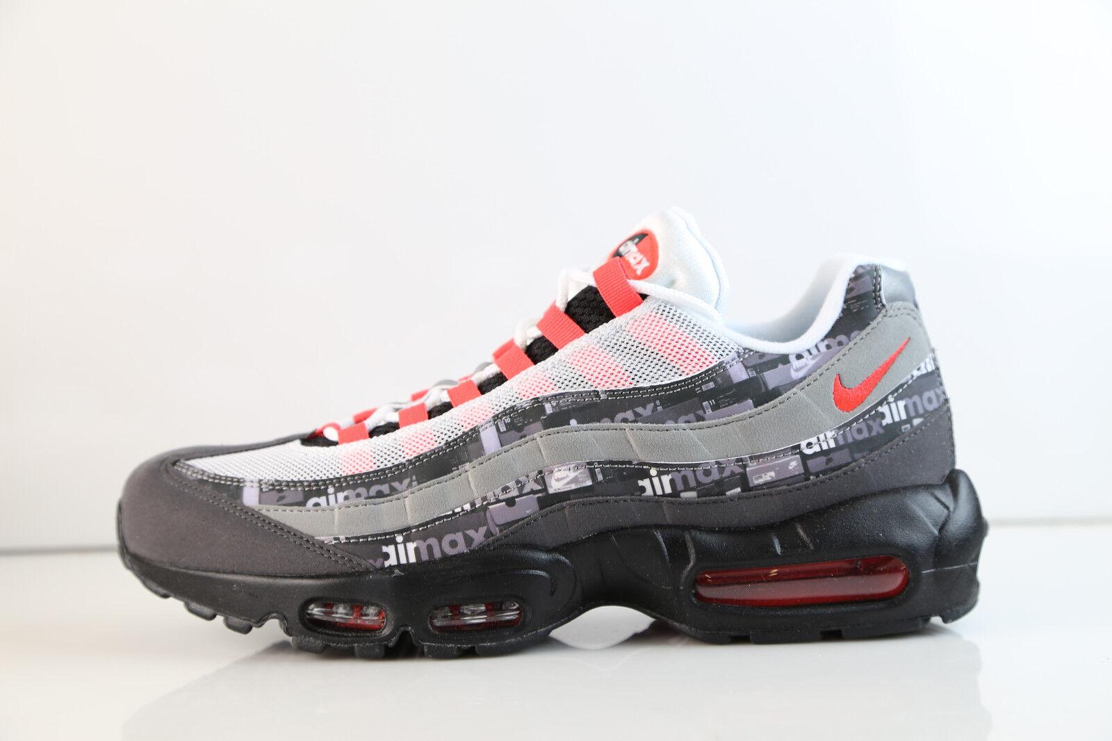 Nike Atmos Air Max 95 PRNT We Love Nike Black Bright Crimson AQ0925-002 5-12 1