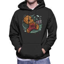 item 1 Tiny Groot Guardians Of The Galaxy II Men's Hooded Sweatshirt -Tiny  Groot Guardians Of The Galaxy II Men's Hooded Sweatshirt