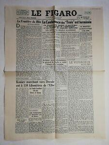 N1206-La-Une-Du-Journal-Le-Figaro-13-Fevrier-1945-la-frontiere-du-Rhin