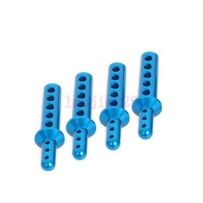 188037 HSP Blue Body Post (AL) 4PCSFor RC 1/10 Model Car 08007 Upgrade Parts