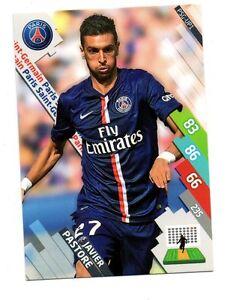 Panini Foot Adrenalyn 2014/2015 - Javier PASTORE - Paris St Germain (A1322)