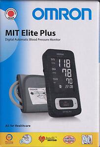 Omron-MIT-Elite-Plus-der-Design-Star-dig-Oberarm-Blutdruckmessgeraet-neu-amp-OVP