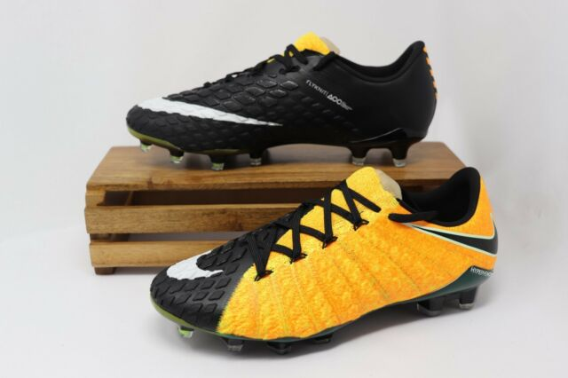 size 40 9059f d1f6a Frequently bought together. Nike Hypervenom Phantom III FG Soccer Cleats  Laser Orange 852567-801 ...