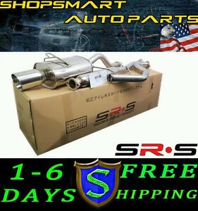 SRS FULL STAINLESS STEEL CATBACK EXHAUST 94 95 96 97 98 99 00 INTEGRA LS RS GS