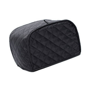 Black-Grid-4-Slice-Cover-Appliance-Oven-Cover-Protector-Dust-Proof