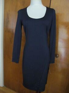 Ralph-Lauren-women-039-s-navy-evening-lined-classic-dress-size-2-4-10-12