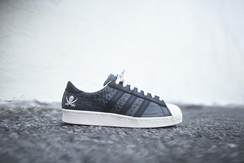 Adidas Consortium x Neighborhood Superstar Superstar Superstar 10th Anniversary nero bianca B34070 027257