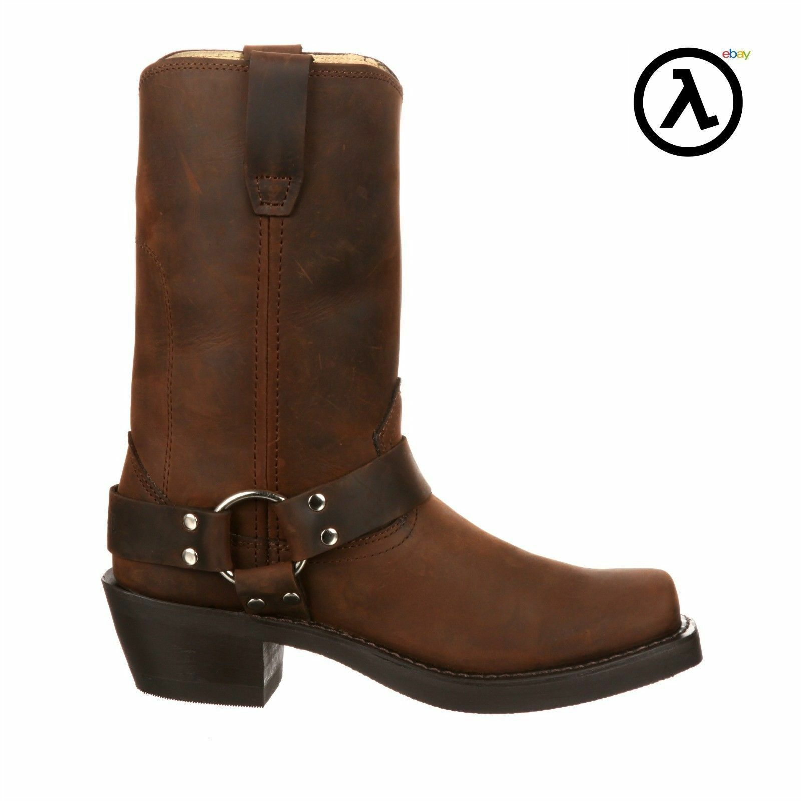 DURANGO WOMEN'S BROWN HARNESS BOOTS RD594 * ALL SIZES - NEW