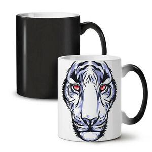 Face Wild Animal Tiger NEW Colour Changing Tea Coffee Mug 11 oz | Wellcoda