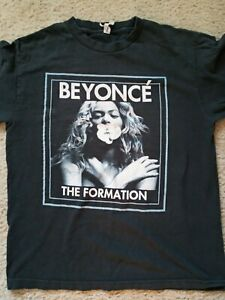 Beyonce The Formation 2016 world tour concert shirt used medium
