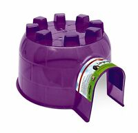 Pet Guinea Pig Igloo Hide-out Large Color May Vary Encourages Natural Nesting