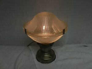 Vintage-Industrial-Barn-old-ceiling-Holophane-shade-mid-century-touch-light
