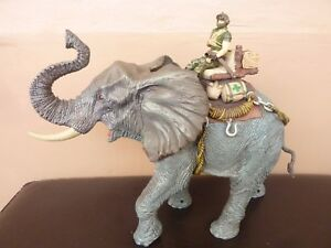 JOUET-Wild-Quest-Rescue-Patrol-Playset-Elephant-SONORE-STYLE-GI-JOE-COMME-NEUF