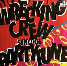 "BIONIC1/SYNCOPIX - Wrecking Crew/Party Tune (12"") (VG-EX/G+)"