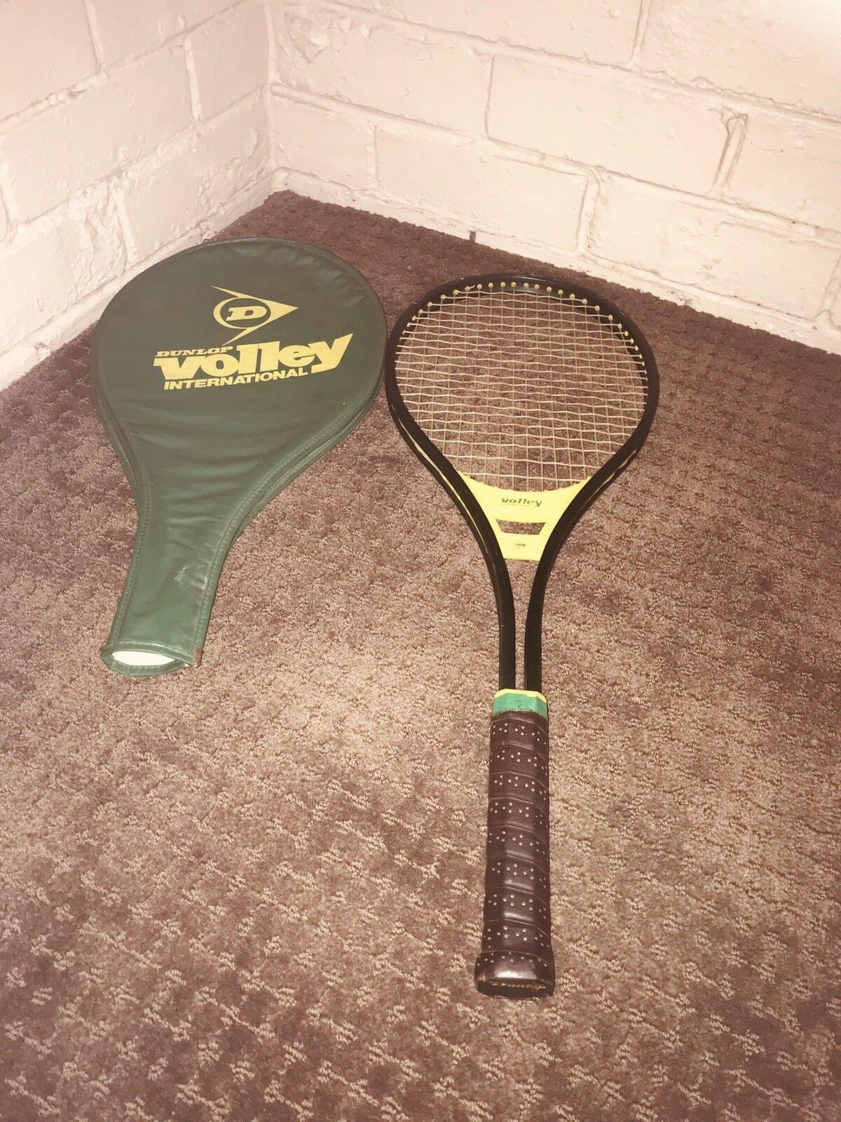 Dunlop Volley International Vintage Tennis Racquet In Excellent Condition