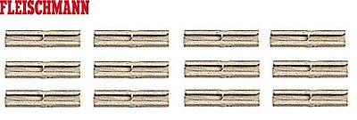 NEU /& OVP 12 Stück + Fleischmann 6433 H0 Isolier-Schienenverbinder +