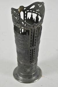 h06f51- Vasenhalterung(?), Andenken Dresden, Metall