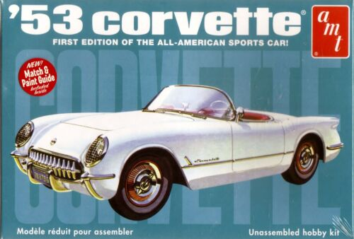 '53 Chevrolet Corvette First Edition of American Sports Car AMT NEW