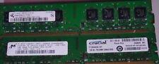 2GB =2x1GB 2Rx8 PC2-5300U DDR2667 240PIN FOR Dell Optiplex DESKTOP 755 760 160