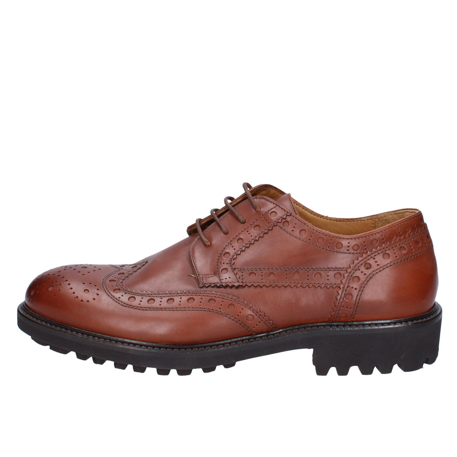 Men's shoes K852 & SON 9 () elegant brown leather BX607-42