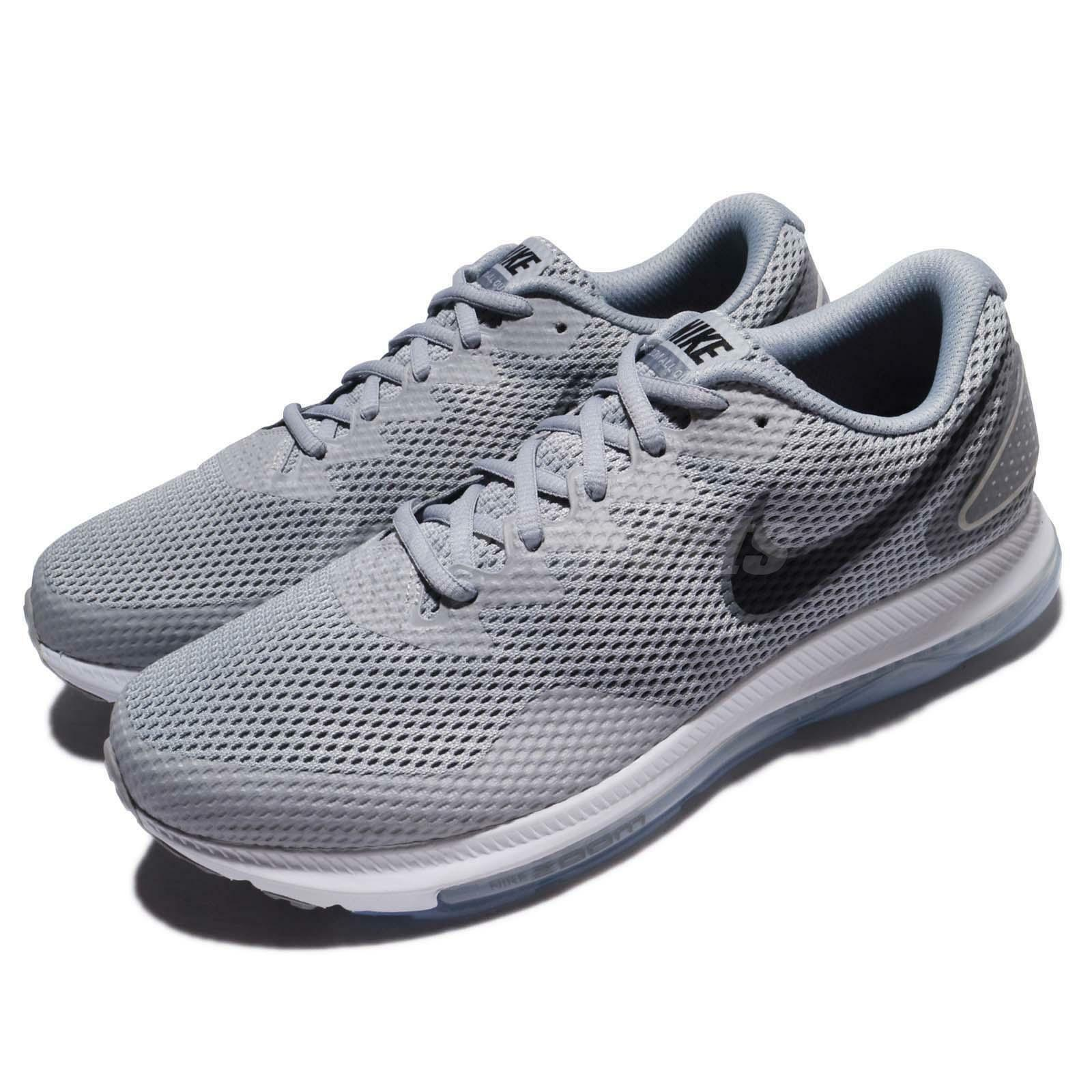 Nike Zoom All Out Flyknit Low Running Shoes Wolf Grey AJ0035 005 RARE!