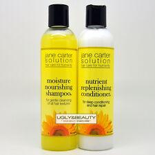 Jane Carter Moisture Nourishing Shampoo + Nutrient Replenishing Conditioner Duo