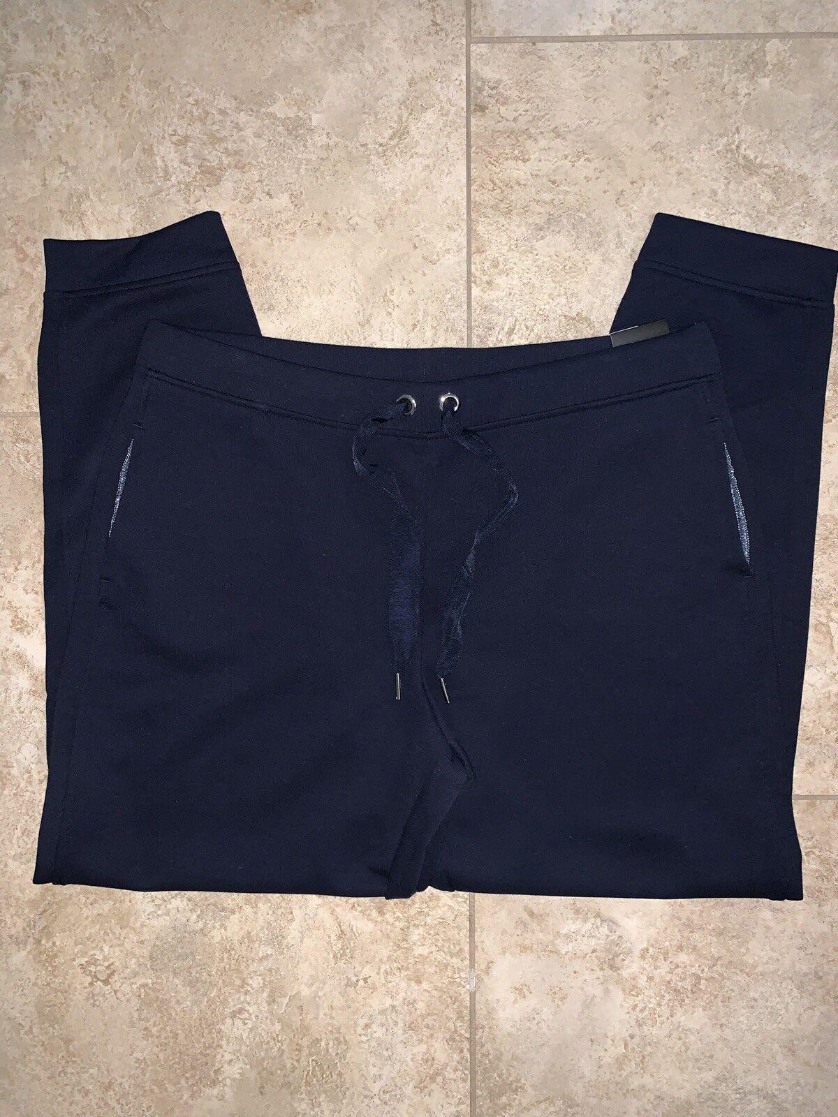 NWT VSX Sport Sweats Lounge Pants Navy Size L