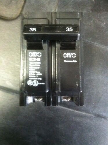 NEW  IN  BOX Cutler-Hammer BR235 Circuit Breaker 35 Amp 240 Volt 2 Pole Eaton