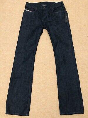 * Bnwt * Diesel Zatiny Uomo Jeans Svasati Normale W28 L34 Rrp £ 120-mostra Il Titolo Originale