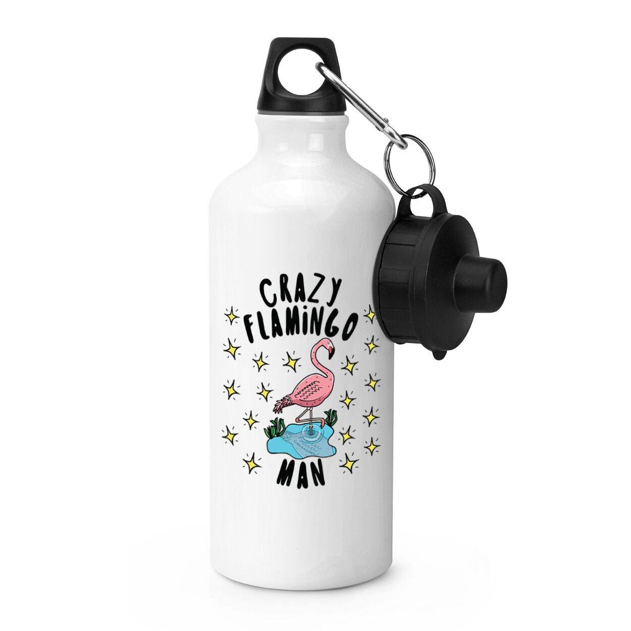 Crazy Flasque Flamingo homme étoiles Sports Bouteille Boisson Camping Flasque Crazy - DRÔLE c0c799