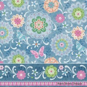 2 Paper Napkins Blue Green Tiles Serviettes for Decoupage //Parties //Weddings