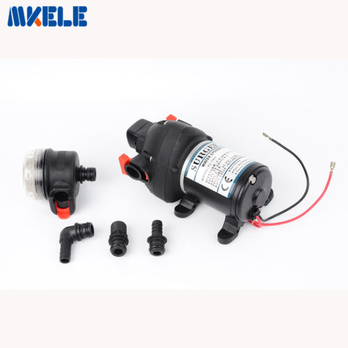 Mini DC12V Plastic High Pressure Bilge Water Diaphragm Pump 30m lift FL-703
