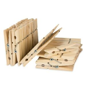 50 Holz Wascheklammern Holz Klammern 7 5cm Gross Fur Wasche Stander