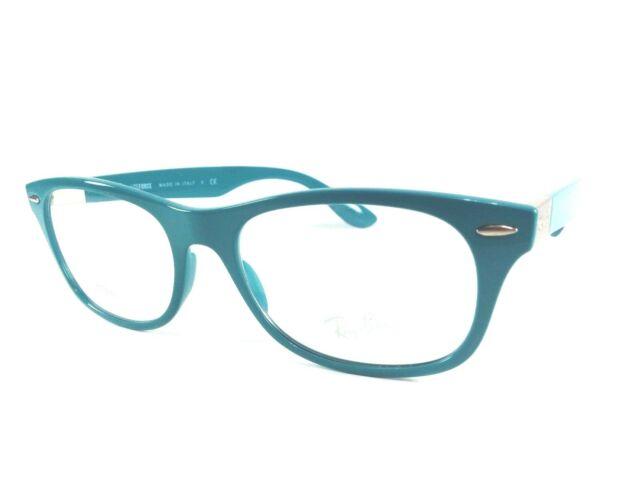 7162c723112e3 Ray Ban Eyeglasses RB 7032 5436 blue 52 17 145mm FREE SHIPPING!!! for sale  online