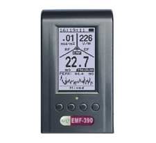Gq Emf 390 3in1 Multi Field Electromagnetic Emf Meter 5g Rf Detector Data Logger