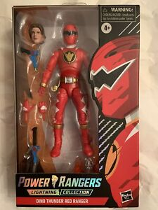 POWER RANGERS LIGHTNING COLLECTION DINO THUNDER RED / TARGET EXCL SPECTRUM / NEW