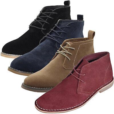 Ausdrucksvoll Herren Außen Wildleder Style Wüstenstiefel Spitze Blockabsatz Hohe Schuhe Gut FüR Antipyretika Und Hals-Schnuller