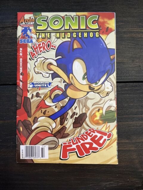 Sonic The Hedgehog Comic Book Archie Adventure Series 2 1993
