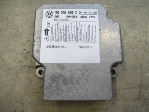 Airbagsteuergerät VW Touran 1T0909605C Steuergerät Airbag