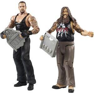 WWE-The-Undertaker-BRAY-WYATT-WWF-BATTLE-PACK-MATTEL-SERIE-38-FIGURA-DE-LUCHA