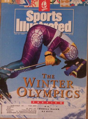 AJ KITT 1992 SPORTS ILLUSTRATED